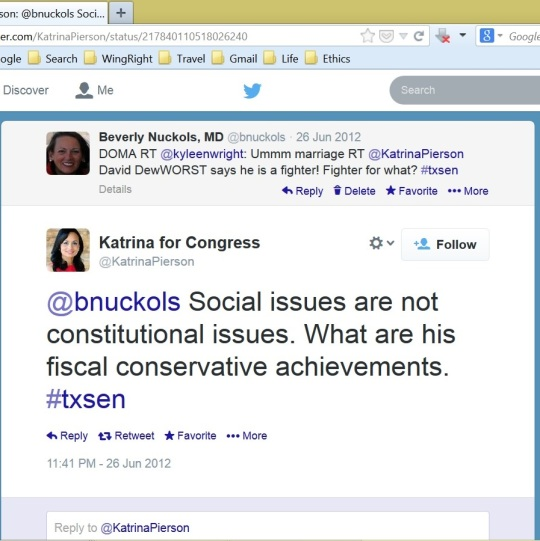 Pierson social issues not Constitutional